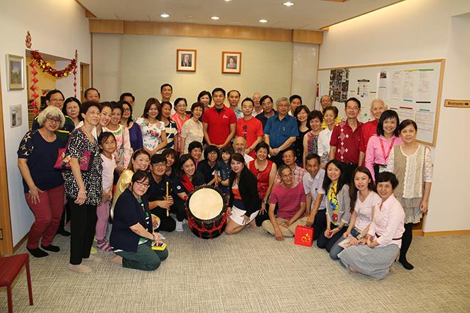 MP Tan Chuan Jin with Shinnyo-en